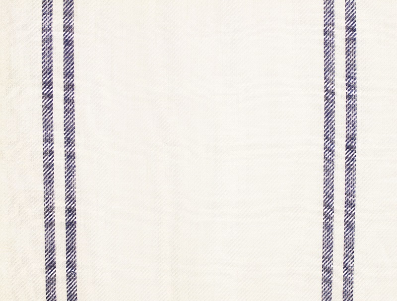 Linen Stripes Lina【Lina Marine No.1】 ( Curtain )