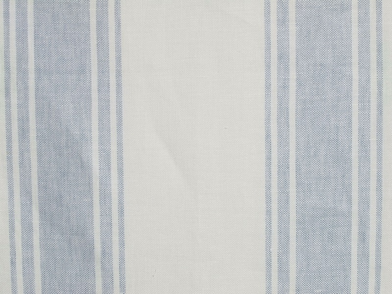 Linen Stripes Lina【Lina Marine No.4】 ( Curtain )