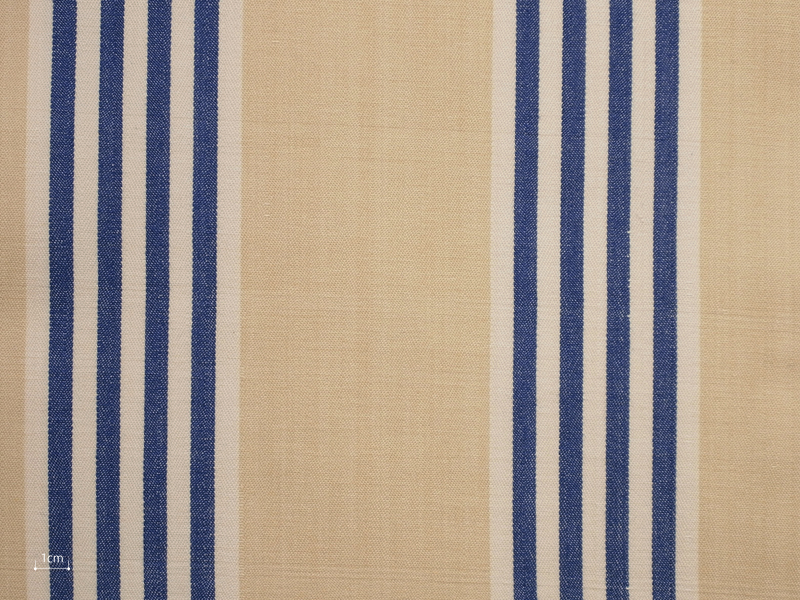 Cotton Stripes Canara 【 Canara No.5 】 ( Sofa / Curtain )