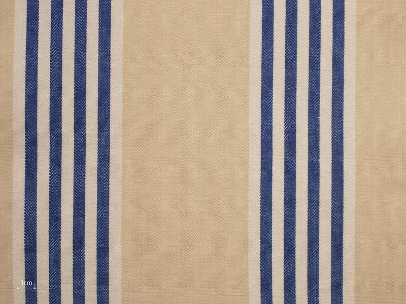 Cotton Stripes Canara 【 Canara No.5 】 ( Sofa / Curtain )