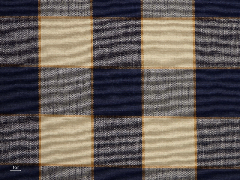 Cotton Checks Chetti 【 Chetti No.23 】 ( Sofa / Curtain )