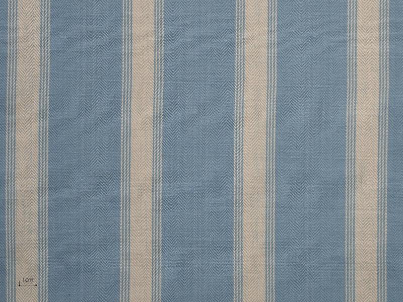 Cotton Stripes Mercara 【 Mercara No.6 】 ( Sofa / Curtain )