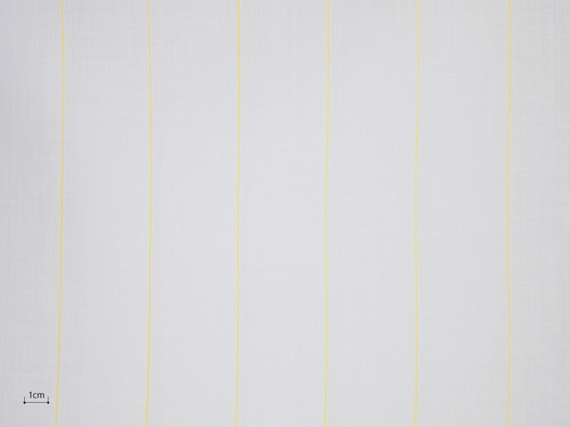 Cotton Muslin 【 Muslin Stripe Yellow 】 ( Curtain )