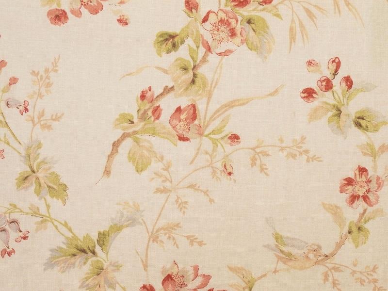 Linen Flower Naturals 【Naturals Trinity White 】 ( Curtain )