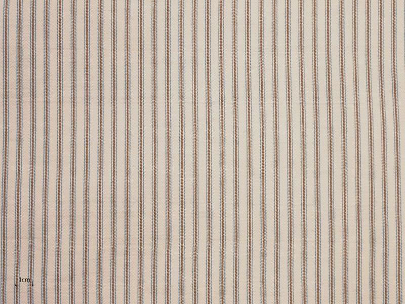 Cotton Stripes Ticka 【 Ticka No.16 】 ( Sofa / Curtain )