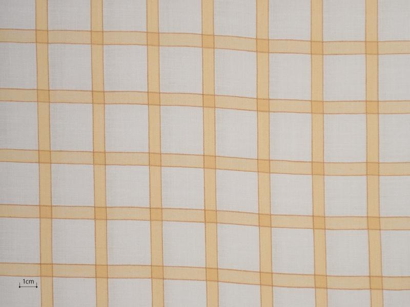 Cotton Muslin 【 Tondi Check No.7 】 ( Curtain )