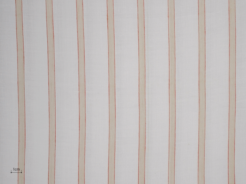 Cotton Muslin 【 Tondi Stripe No.5 】 ( Curtain )