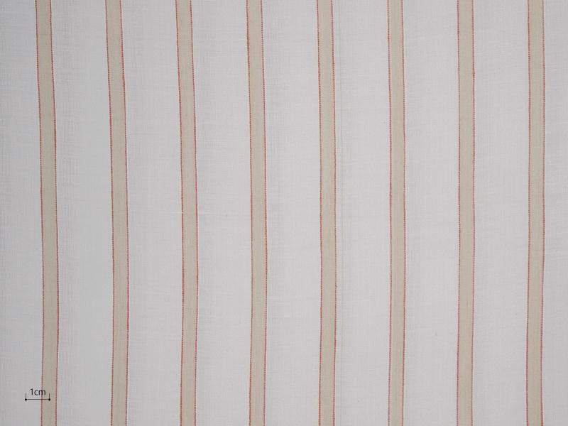 Cotton Muslin 【 Tondi Stripe No.5 】 ( Curtain )