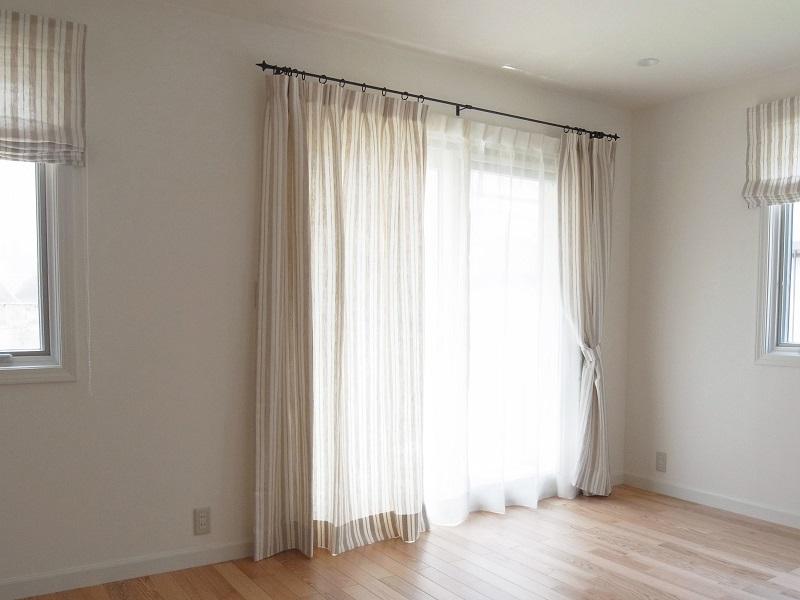 1本プリーツカーテン