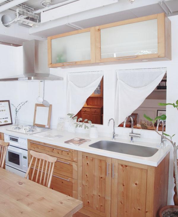 キッチン カーテン4