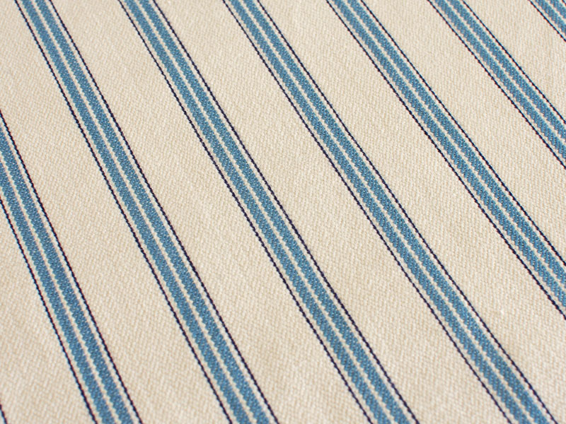 Cotton Stripes AKA 【 AKA No.4 】 ( Sofa / Curtain )