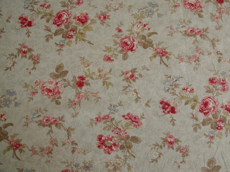 Linen Flower Naturals 【Naturals Antique Rose Taupe 】 ( Curtain )