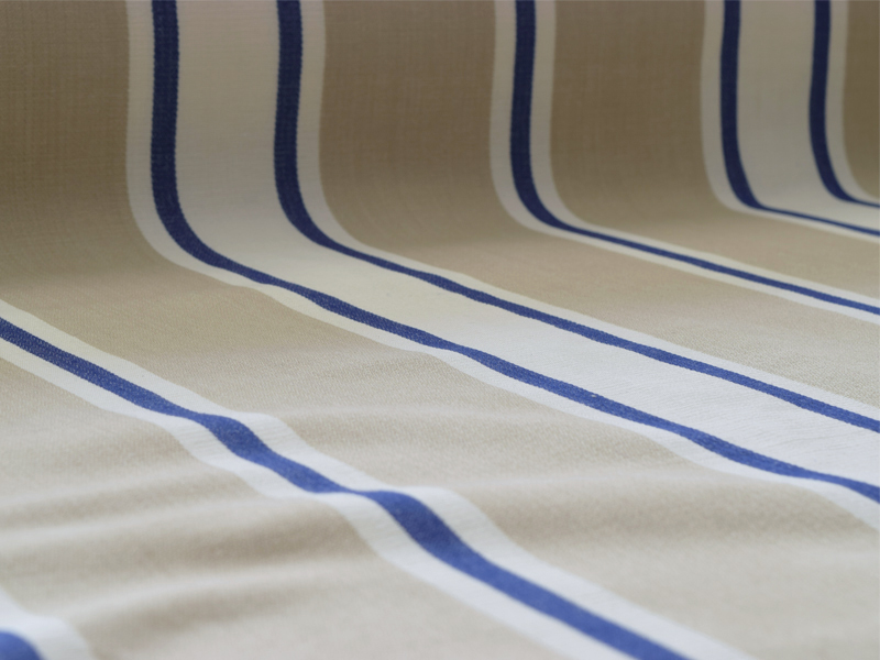 Cotton Stripes Merpal 【 Merpal No.5 】 ( Sofa / Curtain )
