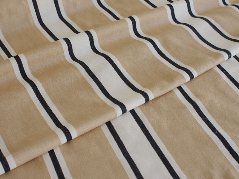Cotton Stripes Merpal 【 Merpal No.1 】 ( Sofa / Curtain )