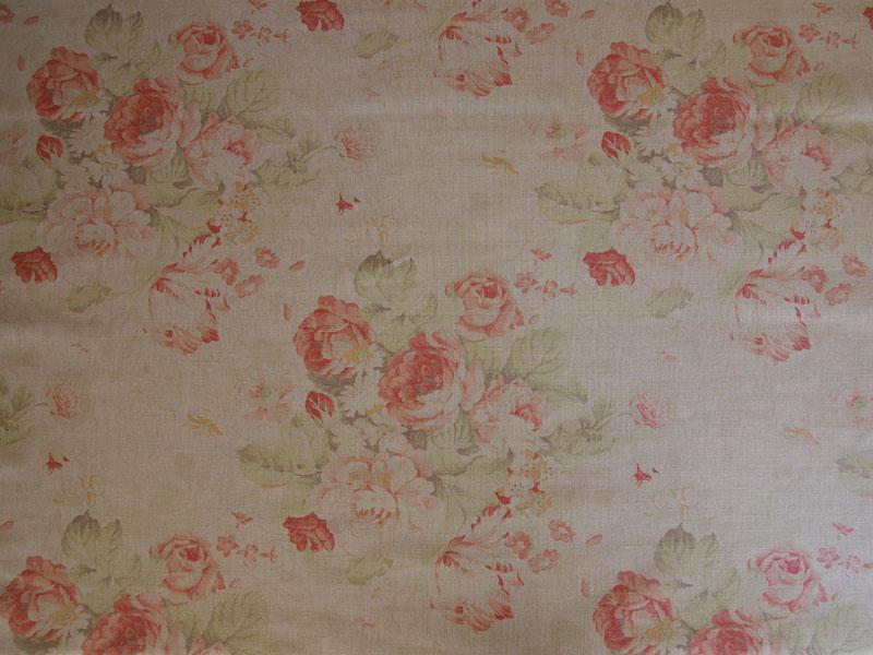 Linen Flower Naturals 【 Naturals Bibury Teastain 】 ( Sofa / Curtain )
