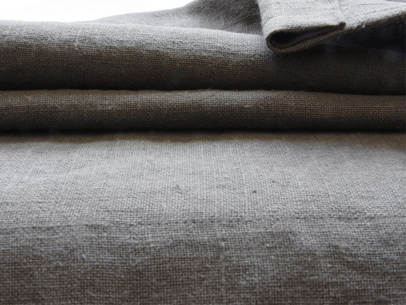 Linen Plains Naturals 【 Naturals L010 Gray 】 ( Sofa / Curtain )