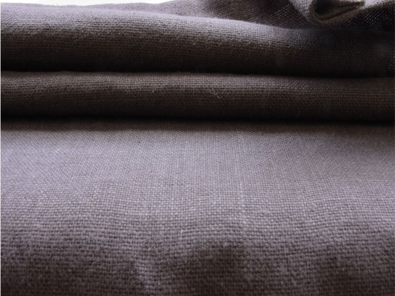 Linen Plains Naturals 【 Naturals Plum 】 ( Sofa / Curtain )