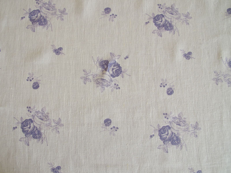 Linen Flower Naturals【Shyabbychic Rose Plum】 ( Curtain )