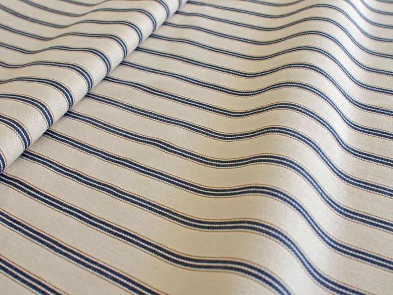 Cotton Stripes AKA 【 AKA No.3 】 ( Sofa / Curtain )