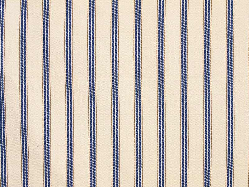 Cotton Stripes AKA 【 AKA No.3 】 ( Sofa / Curtain )