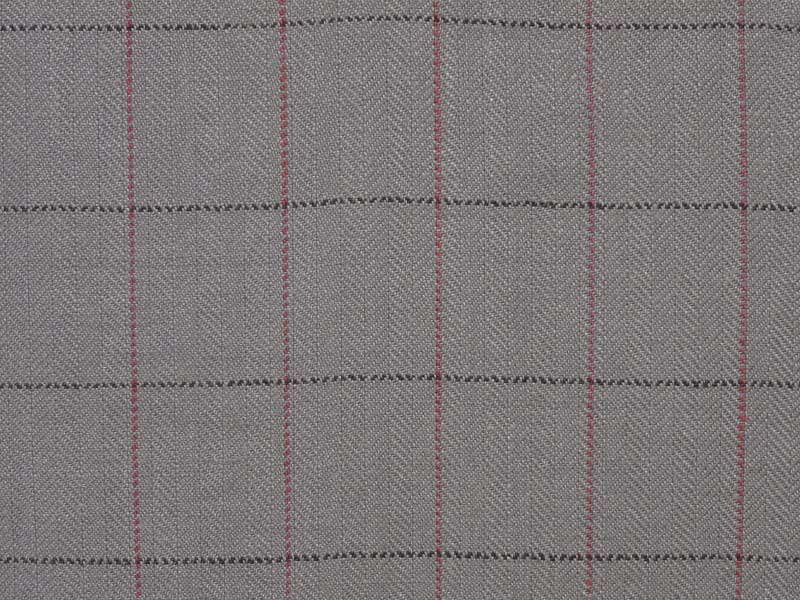 Linen Checks Naturals 【 Naturals L470 Checked 】 ( Sofa / Curtain )