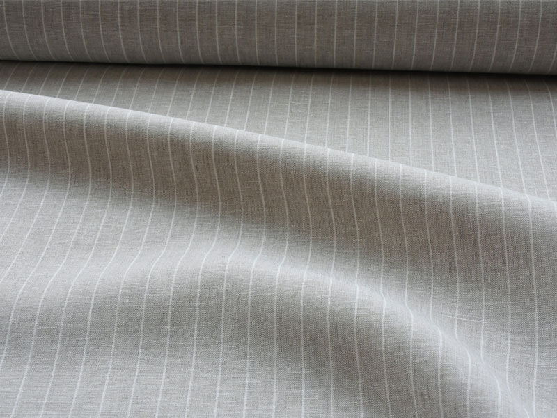 Linen Stripes Lina 【 Lina No.23 】 ( Curtain )