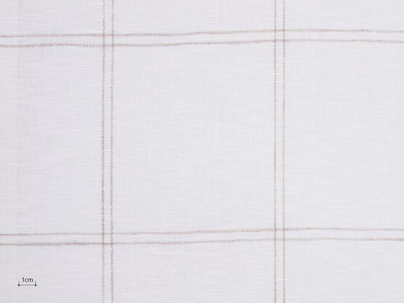 Linen Checks Lina 【 Lina No.32 】 ( Curtain )