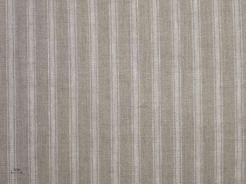 Linen Stripes Lina 【 Lina No.52 】 ( Curtain )