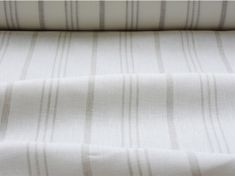 Linen Stripes Lina 【 Lina No.68 】 ( Curtain )