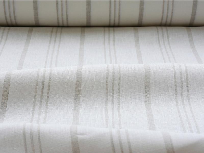 Linen Stripes Lina 【 Lina No.68 】 ( Curtain )