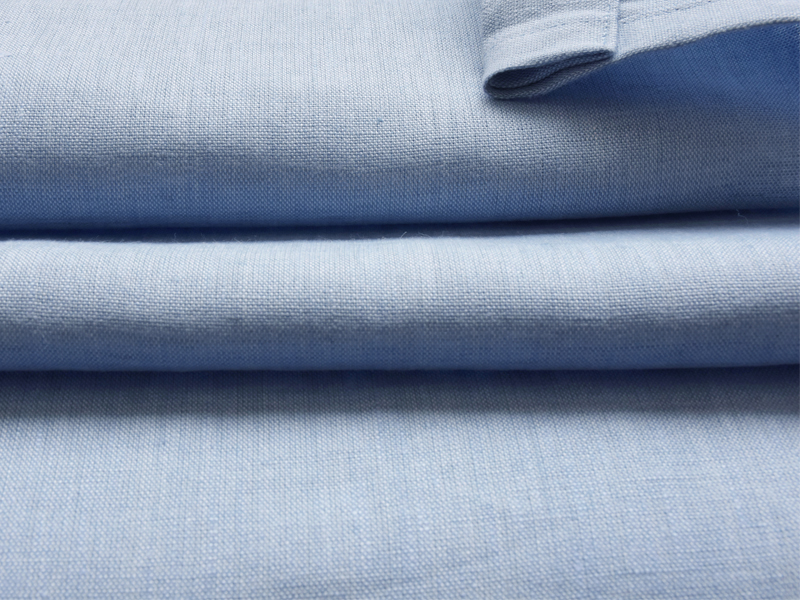 Linen Plains Lina 【 Lina Chambray Blue 】 ( Curtain )