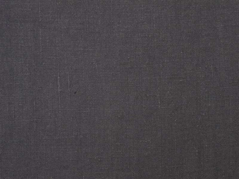Linen Plains Lina 【 Lina Charcoal Gray 】 ( Curtain )
