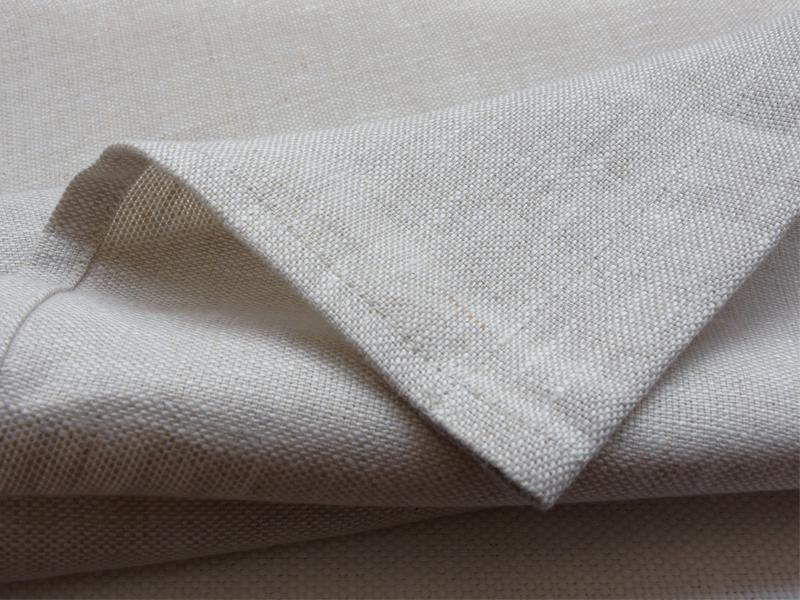 Linen Plains Lina 【Lina Oatmeal 】 ( Curtain )