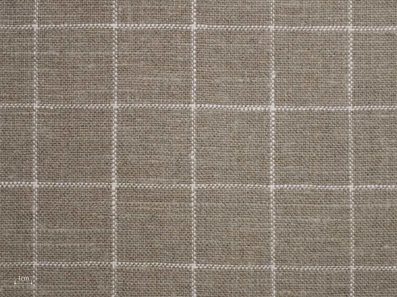 Linen Checks Naturals 【 Naturals No.27 】 ( Sofa / Curtain )