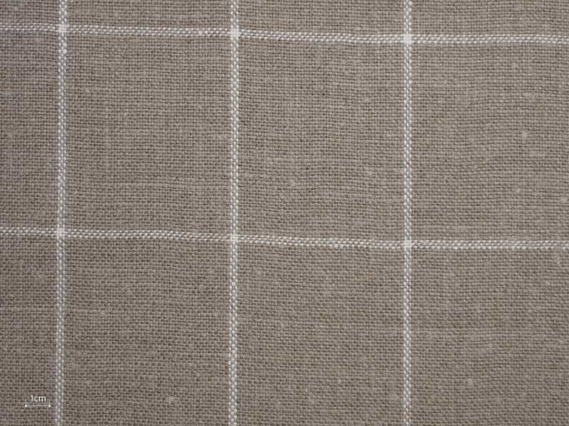 Linen Checks Naturals 【 Naturals No.33 】 ( Sofa / Curtain )