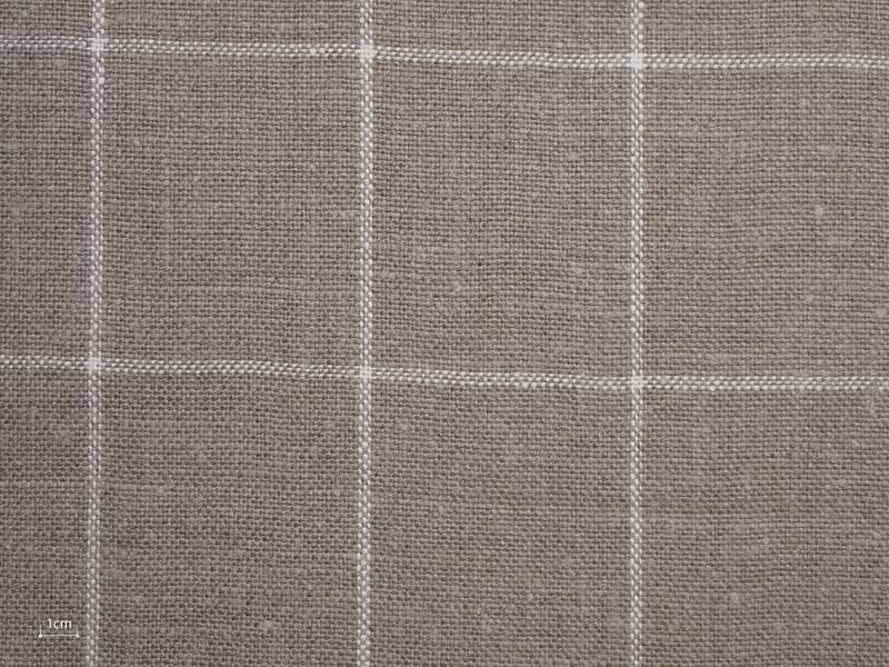Linen Checks Naturals 【 Naturals No.33 】 ( Sofa / Curtain )