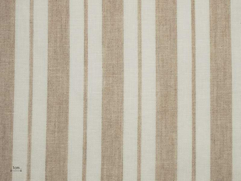 Linen Stripes Naturals 【 Naturals No.55 】 ( Curtain )