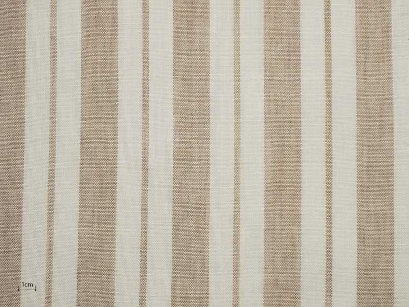 Linen Stripes Naturals 【 Naturals No.55 】 ( Curtain )