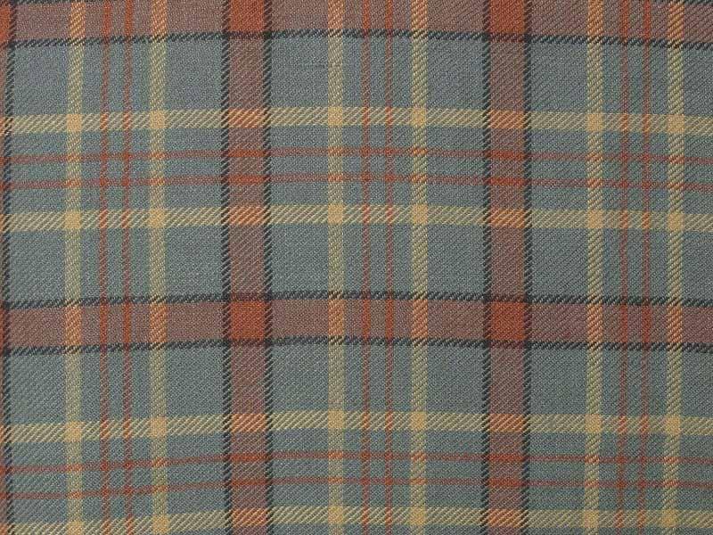 Linen Checks Naturals 【 Naturals Plaid Check Red 】 ( Sofa / Curtain )