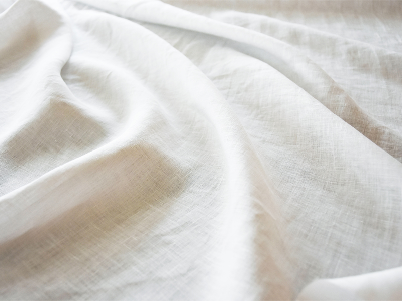 Linen Plains Lina 【 Lina Sheer White 】 ( Curtain )
