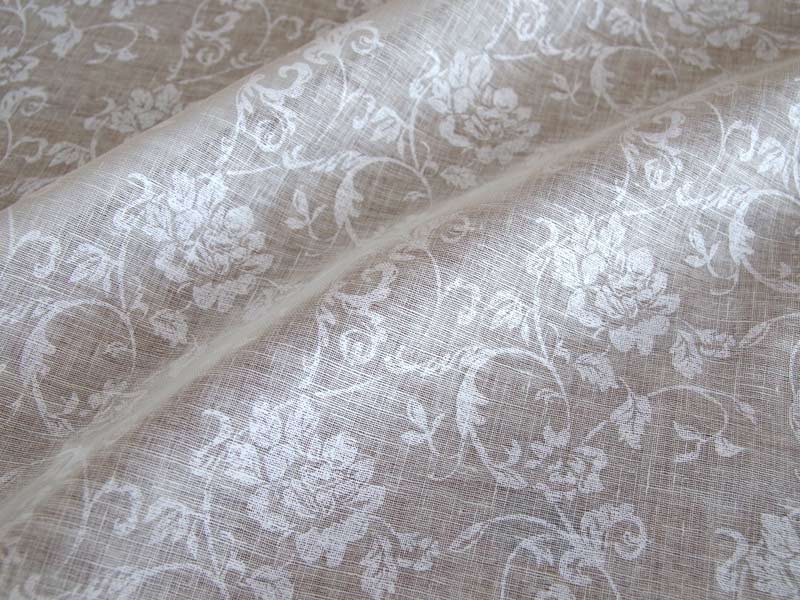 Linen Flower 【Lina Old Rose】(Curtain)