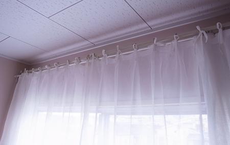 リボンプリーツカーテン