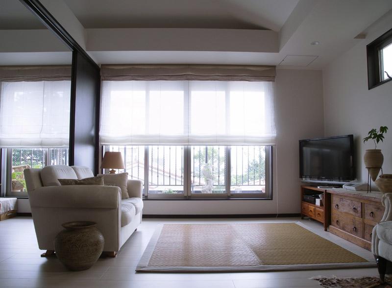 鶴田邸 シェード1