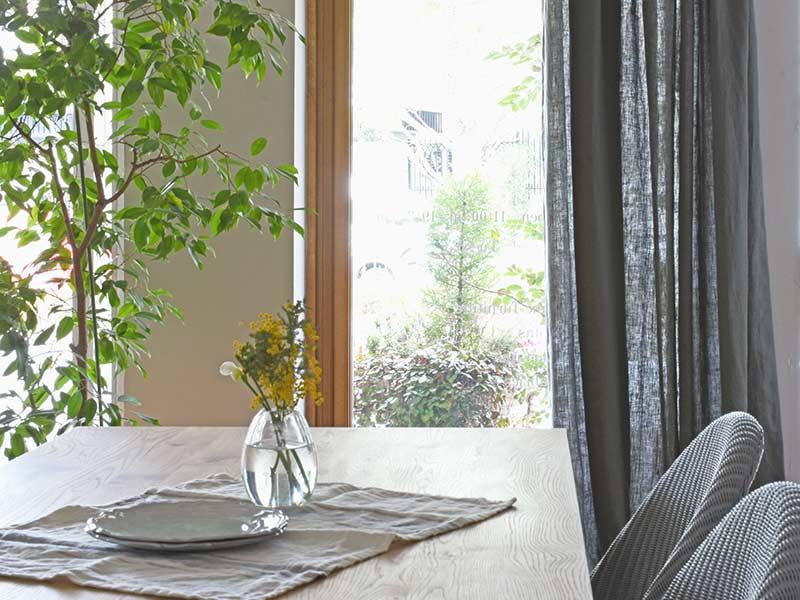 Linen Plains Lina【Lina Washed Grey】( Sofa / Curtain )